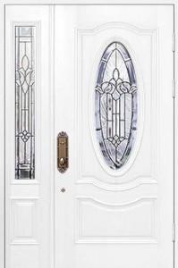 Утепленная входная металлическая дверь. Модель 50-05