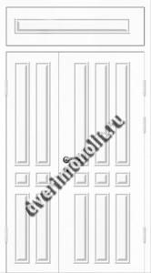 Входная металлическая дверь 12-038