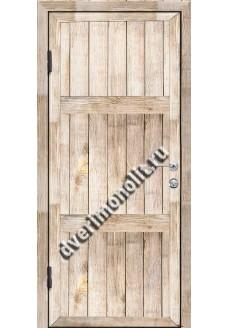 Входная металлическая дверь для дачи, модель ДЧ-001