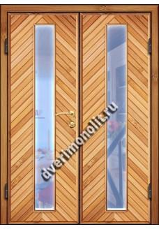 Входная металлическая дверь для дачи, модель ДЧ-010