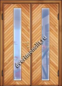 Входная металлическая дверь для дачи, модель 002-010