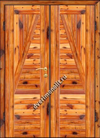 Входная металлическая дверь для дачи, модель 002-011