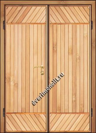 Входная металлическая дверь для дачи, модель 002-012