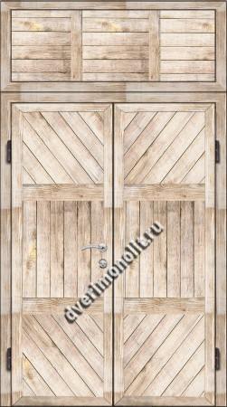 Входная металлическая дверь для дачи, модель 002-013