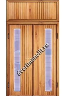 Входная металлическая дверь для дачи, модель ДЧ-014