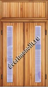 Входная металлическая дверь для дачи, модель 002-014