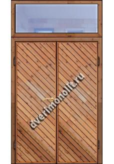 Входная металлическая дверь для дачи, модель ДЧ-015