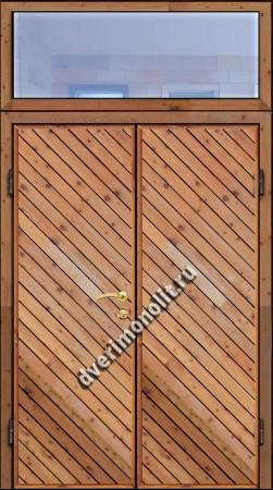 Входная металлическая дверь для дачи, модель 002-015