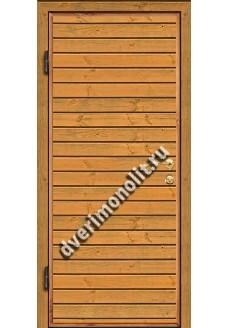 Входная металлическая дверь для дачи, модель ДЧ-002