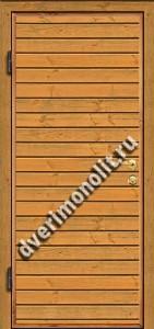 Входная металлическая дверь для дачи, модель 002-002