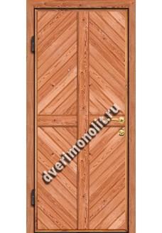 Входная металлическая дверь для дачи, модель ДЧ-003