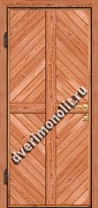 Входная металлическая дверь для дачи, модель 002-003