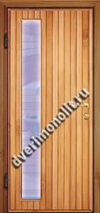 Входная металлическая дверь для дачи, модель 002-005