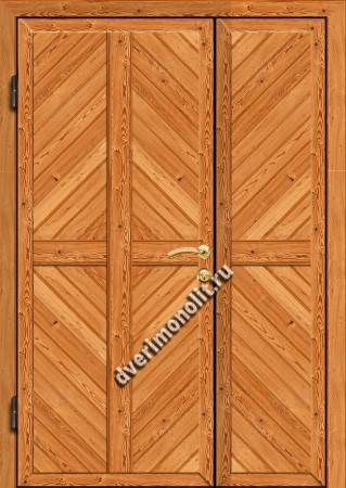 Входная металлическая дверь для дачи, модель 002-006