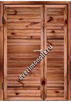 Входная металлическая дверь для дачи, модель ДЧ-007