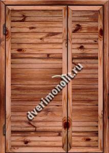 Входная металлическая дверь для дачи, модель 002-007