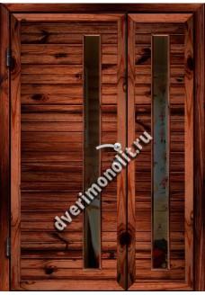 Входная металлическая дверь для дачи, модель ДЧ-008