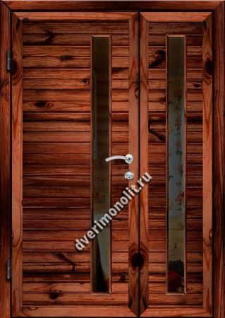 Входная металлическая дверь для дачи, модель 002-008