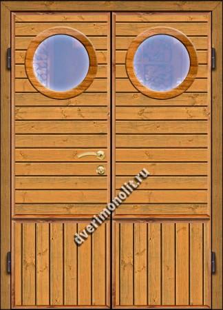 Входная металлическая дверь для дачи, модель 002-009