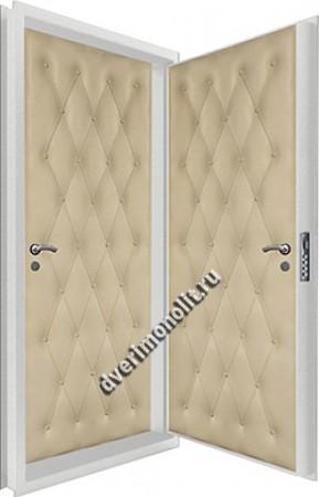 Входная металлическая двойная дверь 12-061