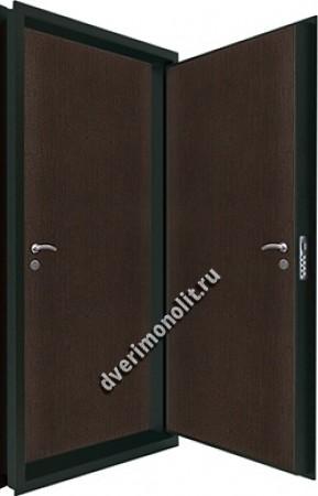 Входная металлическая двойная дверь 12-062
