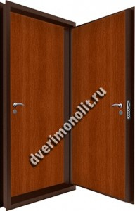 Входная металлическая двойная дверь 12-063