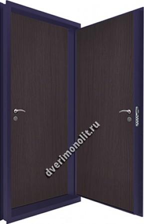 Входная металлическая двойная дверь 12-065