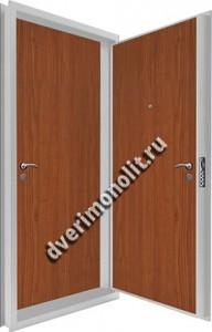 Входная металлическая двойная дверь 12-067