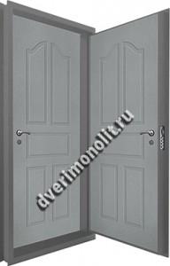 Входная металлическая двойная дверь 12-069