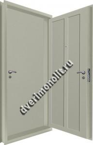 Входная металлическая двойная дверь 12-120