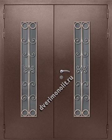 Входная металлическая дверь - 81-64