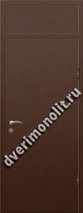 Входная металлическая дверь с фрамугой 70-00
