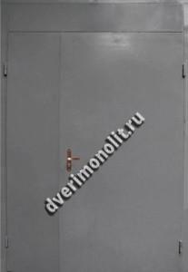 Входная металлическая дверь с фрамугой 70-62