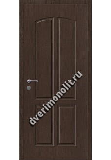 Входная металлическая внутренняя дверь в квартиру 590-18