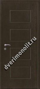 Входная металлическая внутренняя дверь в квартиру 590-20