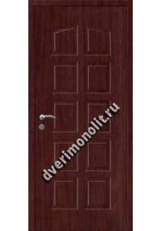 Входная металлическая внутренняя дверь в квартиру 590-21