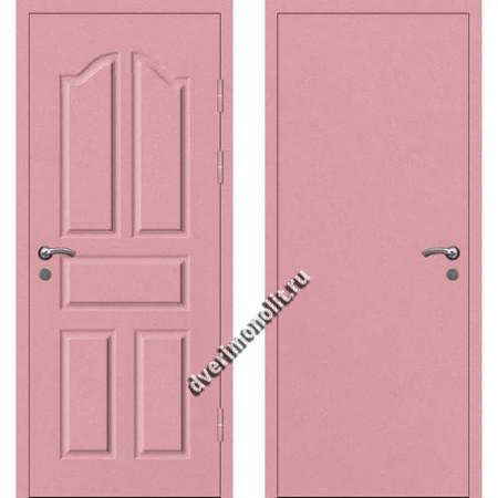 Входная металлофиленчатая дверь - 80-10