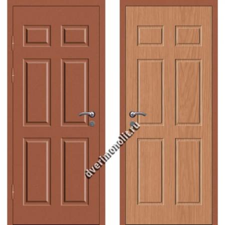 Входная металлофиленчатая дверь - 80-11