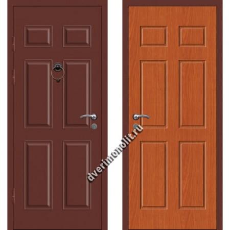 Входная металлофиленчатая дверь - 80-13