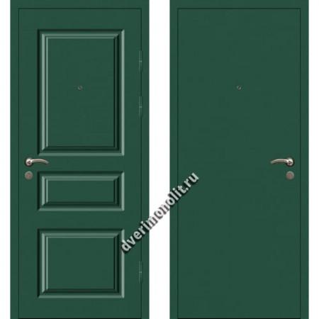 Входная металлофиленчатая дверь - 80-14