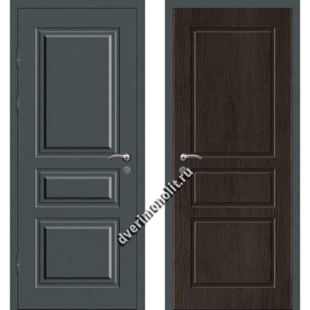 Входная металлофиленчатая дверь - 80-15
