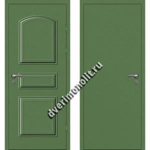 Входная металлофиленчатая дверь - 80-16