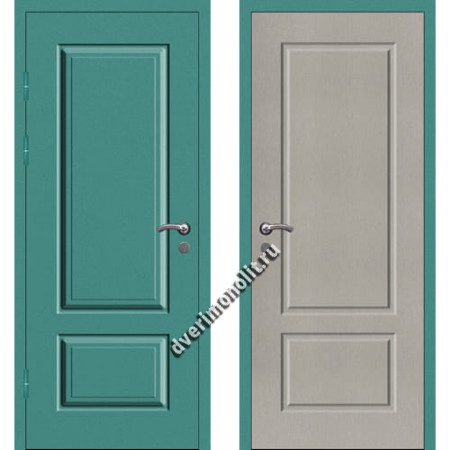 Входная металлофиленчатая дверь - 80-17