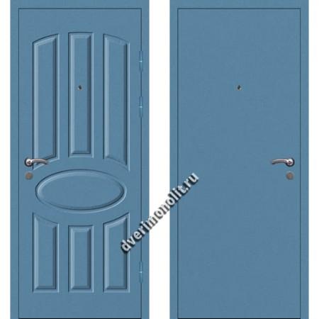 Входная металлофиленчатая дверь - 80-18