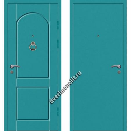 Входная металлофиленчатая дверь - 80-20
