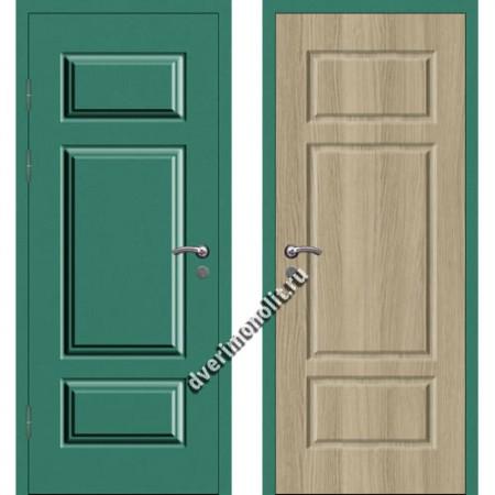 Входная металлофиленчатая дверь - 80-21