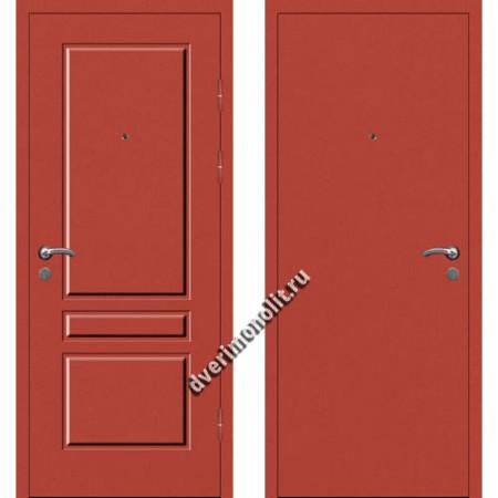 Входная металлофиленчатая дверь - 80-22