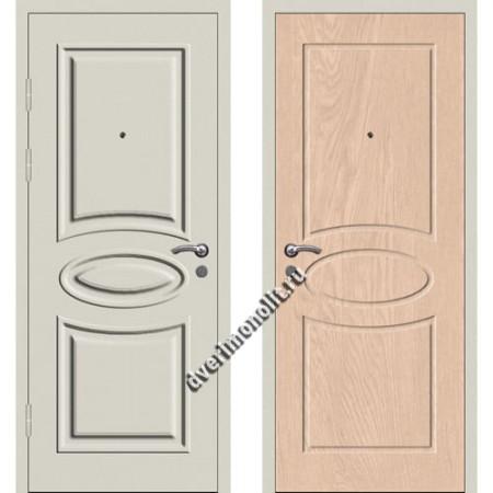 Входная металлофиленчатая дверь - 80-23