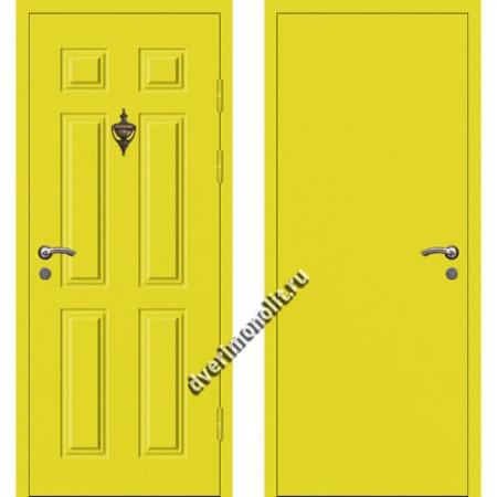 Входная металлофиленчатая дверь - 80-24