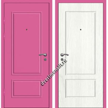 Входная металлофиленчатая дверь - 80-25